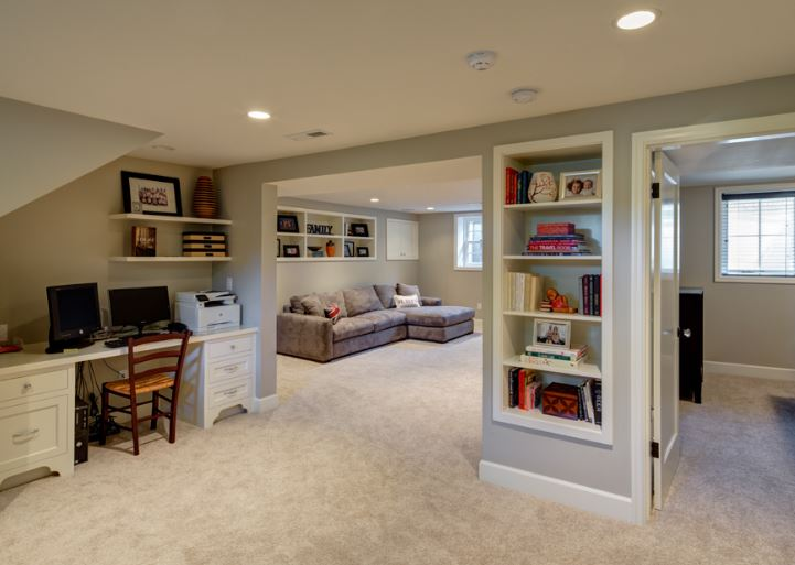 Our Spokane general contractors can help you design finish your perfect basement for your home. Add extra bedrooms, bathrooms, a game room, theater room, office, and so much more, or simply make non conforming bedrooms into conforming by adding egress windows. You'll add value to your home by adding extra square footage while simultaneously adding extra custom-made living space.